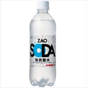 ZAO,SODA,感想,口コミ,味,レビュー